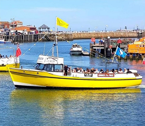 Boat - Whitby Coastal Cruises