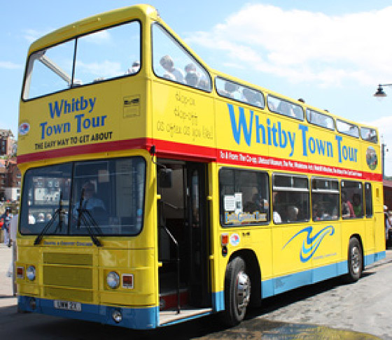 Whitby Town Tour Bus